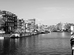 Amsterdam (gianmariag) Tags: bridge amsterdam nederland grachten bianconero olanda canali iphone6s