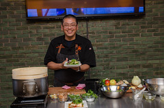Chef Alex Ong 4/19-4/20/16 (UMassDining) Tags: cooking alex smile demo chef presentation guest ong berk
