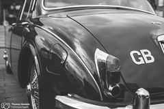 Rolls Royce Oldtimer beim Season Opening im Lenkwerk (thendele) Tags: auto cars car blackwhite rollsroyce autoshow gb oldtimer sw autos bielefeld bnw youngtimer seasonopening schwarzweis lenkwerk