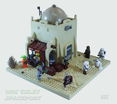 Mos Eisley Spaceport (I Scream Clone) Tags: starwars lego scifi cantina