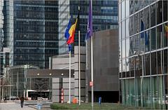 Boulevard Roi Albert II, Bruxelles, Belgium (claude lina) Tags: brussels architecture buildings belgium belgique bruxelles boulevardroialbertii claudelina