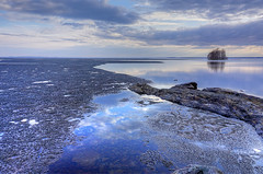 Joensuu - Finland (Sami Niemelinen (instagram: santtujns)) Tags: lake ice nature suomi finland landscape spring finnland sony north scandinavia hdr maisema finlandia joensuu luonto jrvi j karjala kevt pyhselk kuhasalo carelia pohjois a6000 kalmonniemi sonya6000