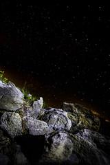 Bulwark against the Night (dans eye) Tags: beach stars star rocks flickr florida fl starrynights flaglercounty flaglerrivertoseapreserve starstudies