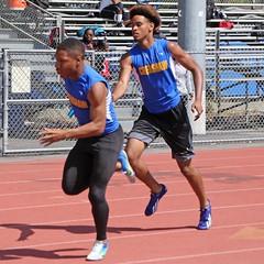 D151261S (RobHelfman) Tags: sports losangeles track highschool trackmeet crenshaw marquisfoust shaneseymore