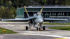 Fa-18 Hornet @ Meiringen Air Base (brutus_ch) Tags: schweiz switzerland meiringen fa18 fa18hornet schweizerluftwaffe swissairfoce ralfmaurer