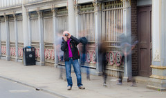 The Invisible Photographer (kevincardosi) Tags: manchester photographer streetphotography ghostly manchesterphotographer