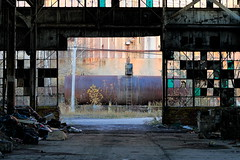 Chemical Sunset (95wombat) Tags: old newyork abandoned industrial decay rusty decrepit ruined rotted contaminated