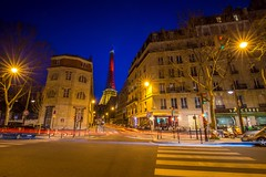 Eiffel Tower (BretJMiller) Tags: travel vacation paris france night spring eiffeltower nighttime springbreak toureiffel sonya7r canon1635f4lis