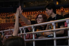 From The Floor to The Stands | 118/366 (Cassidy Jade) Tags: first dna highfive robotics greeting frc spontaneous 366 spontaneousportrait 4009 denfeld 366project day118366 omgrobots firstchamp cy365 366the2016edition 3662016 27apr16 denfeldrobotics