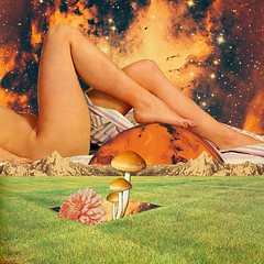 Legs & planet (Mariano Peccinetti Collage Art) Tags: flowers mountains art mushroom collage kids vintage 60s arte legs surrealism space dream surreal retro lsd collageart 70s surrealist meditation trippy psychedelic psych cutandpaste dmt picnicday globular vintageart collageartist peccinetti collagealinfinito marianopeccinetti collageartcollagecollectiveco