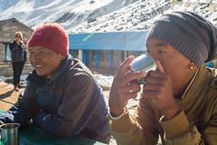 Pasang Dai & Tsering Norbu (Pooja Pant) Tags: nepal mountains beautiful trek abc annapurna annapurnabasecamp macchapuchre