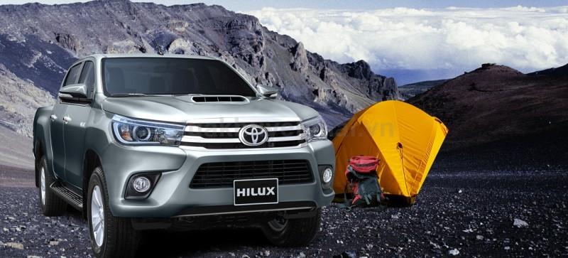Mua xe Toyota Hilux mới – Tặng ngay 01 năm bảo hiểm thân xe