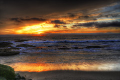 Calif Sunset (Sunset Dogs) Tags: