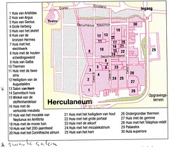 136a 27.9. Ercolano. Plattegrond uit Marco Pologids (rspeur) Tags: italy itali ercolano herculaneum