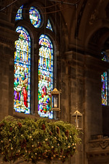 Basilica of St. Mary (frostnip907) Tags: church minnesota architecture catholic cathedral basilica minneapolis stainedglass adventwreath basilicaofsaintmary
