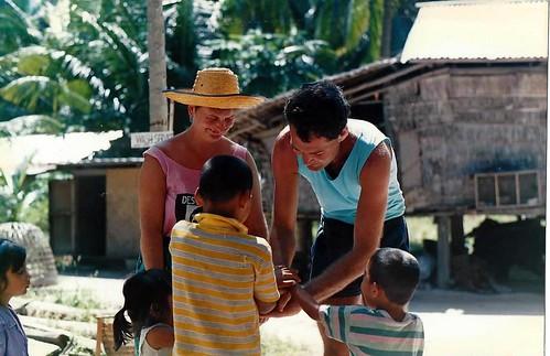 Koh Phi Phi and children