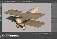 SPADXIII-WIP 15b (StratoArt) Tags: history 3d aircraft aviation military wwi cinema4d warbird biplane warplane spad xiii