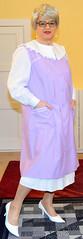 Ingrid021348 (ingrid_bach61) Tags: skirt blouse mature overall bluse pleated kittel faltenrock