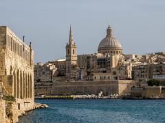 Valletta from Manoel Island (red_bandora) Tags: mt malta taxbiex