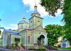 Храм препод. Серафима Саровского (в Пуща-Водице)