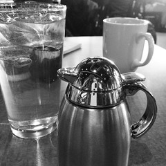 1/6/16 Wee Thermos (Karol A Olson) Tags: reflection water coffee container eggspectations creamer thermos jan16 project3662016