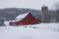 Snow Covered Red Barn (J.L. Ramsaur Photography) Tags: winter cold architecture barn rural fence photography photo nikon tennessee engineering pic oldbuildings silo faded photograph americana thesouth oldbuilding redbarn cumberlandplateau winterweather grainsilo oldbarn cookeville ruralamerica engineeringasart 2016 blackwhitewithcolor blackandwhitewithcolor beautifuldecay smalltownamerica putnamcounty cookevilletn middletennessee bwwithcolor vintagebuilding ruraltennessee ofandbyengineers ruralview fadingamerica abandonedplacesandthings retrobuilding ruralbuilding vanishingamerica cookevilletennessee oldandbeautiful ibeauty abandonedneglectedweatheredorrusty tennesseephotographer vintagebarn ruralbarn structuresofthesouth southernphotography screamofthephotographer engineeringisart ruralwinter jlrphotography photographyforgod tennesseewinter d7200 engineerswithcameras jlramsaurphotography nikond7200 cookevegas americanrelics it'saretroworldafterall snowcoveredredbarn
