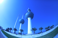 Kuwait Towers (Adam Is A D.j.) Tags: towers kuwait