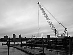 79th Street Boat Basin - Atlantic Subsea Inc. Crane (corchplow) Tags: newyorkcity newyork marina dock marine unitedstates machine service structural enhancement adock
