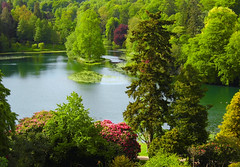 Stourhead Overview! ('cosmicgirl1960') Tags: lake nature water birds gardens parks stourhead yabbadabbadoo