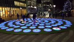 The Pool - Jen Lewin Studio (jonrtw2016) Tags: winter lights canarywharf winterlights
