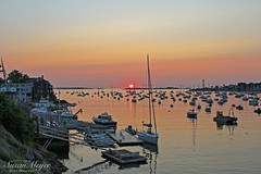 Marblehead Harbor Sunrise-3 (River Bliss Photography) Tags: sea sun sunrise landscape boats harbor marblehead northshore