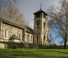 St Pancras Old Church (IanAWood) Tags: urban stpancras walkingwithmynikon lbofcamden nikkorafs28mmf18g nikondf