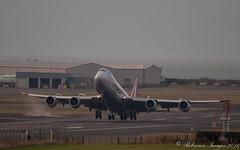 Cargolux 747-8R7 LX-VCJ-2 (.Robinson Images) Tags: uk airplane scotland flying airport transport aeroplane cargo boeing 747 prestwick cargolux pik dash8 ayrshire 7478 lxvcj 7478r7