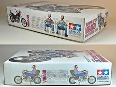 Motorcycle Kits I Grew Up With 6  Box Sides (My Toy Museum) Tags: up bike motorcycle yamaha virago kit tamiya touring grew