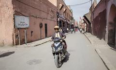 Marrakesh scooter (Siesja) Tags: nikon marocco marrakesh 10mm 2016 d7000