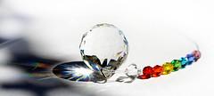 Crystals (PhotosbyDi) Tags: light stilllife colours crystal whitebackground facets nikond600 macromondays tamronf2890mmmacrolens