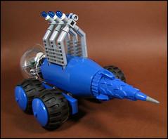 Environmental Analysis Rover (Karf Oohlu) Tags: lego rover minifig moc febrovery environmentalanalysisrover