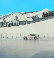 A Selection Of Small Rally Scale Die-Cast Cars Set In A Winter Diorama Scene : Lexus IS300 Suntoys 2001 - 1 Of 10 (Kelvin64) Tags: 2001 winter cars scale set small rally selection scene diorama lexus diecast in is300 a of suntoys
