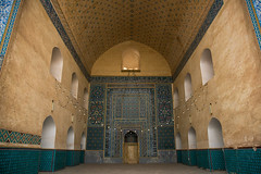 prayer room of the friday mosque, Central County, Kerman, Iran (Eric Lafforgue) Tags: old building history horizontal architecture religious photography persian ancient asia iran islam religion persia nobody mosque architectural historic indoors historical daytime sight friday kerman islamic jame  placeofinterest   iro  builtstructure ganjalikhan centralcounty colourpicture ganjalikhancomplex  irandsc07294