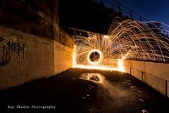 DSC_3866 (Ray Skwire) Tags: light hot color night fire nikon steel heat sparks steelwool d7200