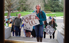 Divest-UO 9 University of Oregon (Wolfram Burner) Tags: school college campus fossil justice duck university board protest uo burner climate league uofo universityoforegon uoregon wolfram sitin fuels environement boardoftrustees trustees divest unversityoforegon