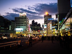 This is Tokyo [Tokyo Streets] (AJ.L) Tags: city color tourism beautiful japan architecture modern night buzz japanese tokyo evening big amazing cosmopolitan exposure place time olympus visit busy mk2 metropolis em5