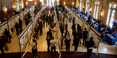 Research Day 2016 (danbruell) Tags: student nikon university michigan tissue teeth competition science research posters judging graduate dslr dentistry genetics undergraduate enamel dds genome d7100 photobydanbruell