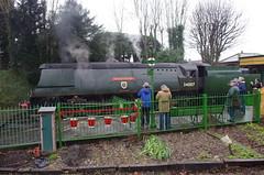 IMGP8411 (Steve Guess) Tags: uk england train engine loco hampshire steam gb locomotive alton westcountry ropley alresford hants wadebridge fourmarks 462 bulleid medstead 34007
