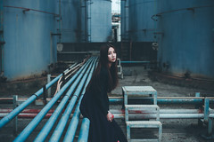 DSC_8363 (Ivan KT) Tags: light shadow portrait woman art girl photography jane lotus taiwan exhibition sight conceptual backlighting