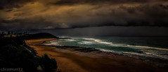 Rolling in - DSC03813 Ballina storm A7 wide (cleansurf2) Tags: cloud seascape storm color colour beach water dark landscape coast waves sony a7 waterscape ilce a7ii mirrorless a7m2
