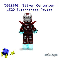 Let's welcome the latest state-of-the-art Iron Man suit (WhiteFang (Eurobricks)) Tags: man game video iron lego tony suit hero superheroes marvel stark promotional armour exclusive avengers