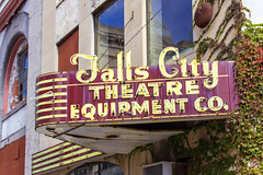 Falls City Sign (Eridony) Tags: sign downtown kentucky louisville neonsign jeffersoncounty fourthstreetdistrict