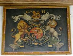 Weston Turville, Buckinghamshire (Sheepdog Rex) Tags: stmaryschurch royalarms westonturville