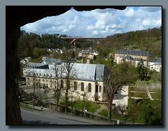 Stadt Luxemburg - Stadtteil Pfaffenthal (p_jp55 (Jean-Paul)) Tags: panorama luxembourg luxemburg saarlorlux stadtluxemburg ltzebuerg pfaffenthal cityofluxembourg villedeluxembourg pafendall stadltzebuerg